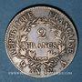 Münzen Consulat (1799-1804). 2 francs an 12A