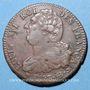 Münzen Convention (1792-1795). 2 sols constitutionnel 1793 BB, an 5 Strasbourg. Type FRANCAIS, cuivre
