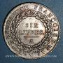 Münzen Convention (1792-1795). Ecu de 6 livres 1793 A. 1er semestre