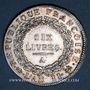 Münzen Convention (1792-1795). Ecu de 6 livres 1793A. 1er semestre