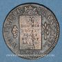 Münzen Convention (1792-1795). Sol aux balances 1793BB Strasbourg. MdC rougeâtre !