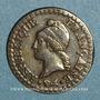 Münzen Directoire (1795-1799). 1 centime an 6A. 53 perles à l'avers et 50 au revers