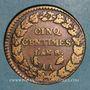 Münzen Directoire & Consulat. 5 centimes an 8AA Metz