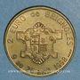 Münzen Euro des Villes. Brignolles (83). 1 euro 1998