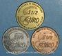 Münzen Euro des Villes. Colmar (68). 1 1/2 euro 1997 (3 monnaies)
