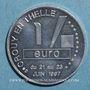 Münzen Euro des Villes. Crouy-en-Thelle (60). 1 euro 1997