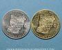 Münzen Euro des Villes. La Mayenne (53). 1et 2 euro 1997
