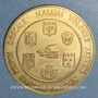 Münzen Euro des Villes. Malijai (04). 1,5 euro 1996
