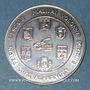 Münzen Euro des Villes. Malijai (04). 3 euro 1996