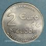 Münzen Euro des Villes. Meudon (92). 2 euro 1998