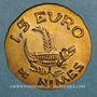 Münzen Euro des Villes. Nîmes (30). 1 euro 1997