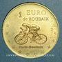 Münzen Euro des Villes. Roubaix (59). 1 euro 1998