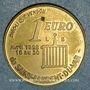 Münzen Euro des Villes. Saint-Laurent-du-Var (06). 1 euro 1998