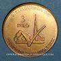 Münzen Euro des Villes. Voisin-le-Bretonneux (78). 3 euro 1997