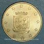 Münzen Euros des Villes. Aubenas (07). 1 euro 1997