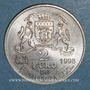Münzen Euros des Villes. Bordeaux (33). 2 euro 1998