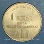 Münzen Euros des Villes. Cambrai (59). 1 euro 1997