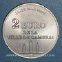 Münzen Euros des Villes. Cambrai (59). 2 euro 1997