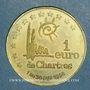 Münzen Euros des Villes. Chartres (28). 1 euro 1998