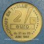 Münzen Euros des Villes. Crouy-en-Thelle (60). 2 euro 1997