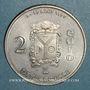 Münzen Euros des Villes. La Bresse (88). 2 euro 1997