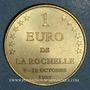 Münzen Euros des Villes. La Rochelle (17). 1 euro 1997
