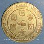 Münzen Euros des Villes. Malijai (04). 1,5 euro 1996