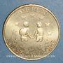 Münzen Euros des Villes. Melun (77). 1 euro 1998