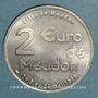 Münzen Euros des Villes. Meudon (92). 2 euro 1998