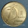 Münzen Euros des Villes. Ozoir-la-Ferrière (77). 1 euro 1997