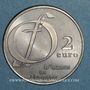 Münzen Euros des Villes. Ozoir-la-Ferrière (77). 2 euro 1997