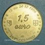 Münzen Euros des Villes. Pechbonnieu (31). 1,5 euro 1996