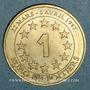 Münzen Euros des Villes. Poitiers (86). 1 euro 1997