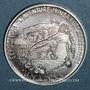 Münzen Euros des Villes. Strasbourg. 4 2/3 euros 1997. Argent