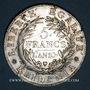 Münzen Italie. Gaule Subalpine (1800-1802). 5 francs an 10 (= 1802). Turin