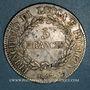 Münzen Italie. Lucques et Piombino. Elisa Bonaparte et Félix Baciocchi (1805-1814). 5 franchi 1807