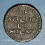 Münzen Italie - Mantoue. 2e siège. 1799. 1 soldo n. d.
