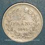 Münzen Louis-Philippe (1830-1848). 1/2 franc 1845W. Lille