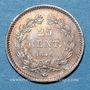 Münzen Louis-Philippe (1830-1848). 25 centimes 1846 A
