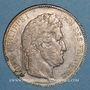 Münzen Louis Philippe (1830-1848). 5 francs 1843W. Lille