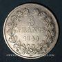 Münzen Louis Philippe (1830-1848). 5 francs 1844BB. Strasbourg