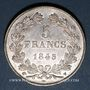 Münzen Louis Philippe (1830-1848). 5 francs 1845 W. Lille