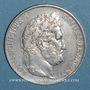 Münzen Louis Philippe (1830-1848). 5 francs 1845W. Lille