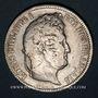 Münzen Louis Philippe (1830-1848). 5 francs, tranche en relief, 1831 B. Rouen