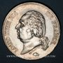 Münzen Louis XVIII (1815-1824). 5 francs buste nu 1823D. Lyon