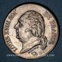 Münzen Louis XVIII (1815-1824). 5 francs buste nu 1824A