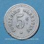 Münzen Albert (80). Comptoirs Albertins. 5 centimes