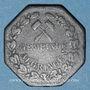 Münzen Algrange (57). Gemeinde Algringen (Municipalité d'Algrange). 10 pfennig. Inédit !