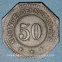Münzen Algrange (57). Gemeinde Algringen (Municipalité d'Algrange). 50 pfennig