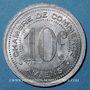 Münzen Amiens (80). Chambre de Commerce. 10 centimes 1920